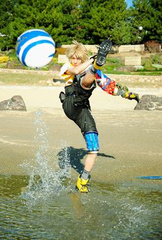 Tidus - Final Fantasy X cosplay by KANON