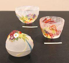 Tae Okada Exhibition / Tae Okada glass | Exhibition | SAVOIR VIVRE Vintage Cups, Window Art, Tea Ceremony, Pretty Art, Cup And Saucer, Glass Art, Art Pieces, Perfume Bottles, Pottery