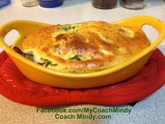 "VEGGIE POT PIE ""Two cups of vegetables, my choice was a mix of broccoli, cauliflower, mushrooms and spinach. I partly cooked the cauliflower and broccoli and blanched the spinach in hot water to soften. Put everything in a dish prepared with cooking spray. Mix IP broccoli cheddar soup with two egg whites, garlic powder and Italian seasoning, and 1/4 tsp of baking powder. Pour mixture over vegetables and bake at 350 for 10-12 minutes. Equals 2 cups veggies and 1 IP meal."""