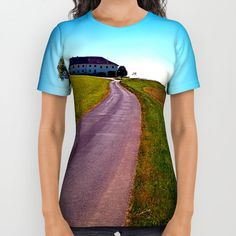 Designer Clothes, Shoes & Bags for Women American Apparel, Printed Shirts, Country Roads, Unisex, Cotton, Mens Tops, Stuff To Buy, Shopping, Collection