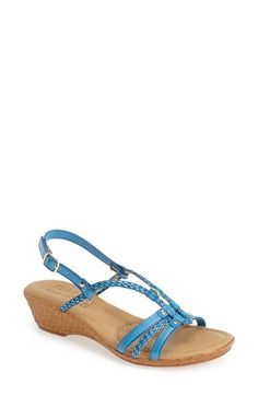 Tuscany by Easy Street® 'Lucca' Wedge Sandal (Women) | Nordstrom