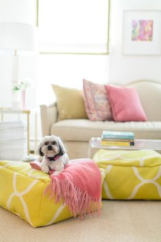 Accents with high impact: http://www.stylemepretty.com/living/2015/08/26/17-reasons-to-say-yes-to-pattern/