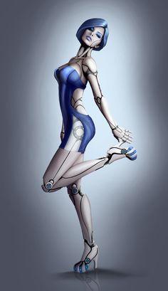 My Alkaline Beauty by ~Great-Guardian on deviantART, sexy, cyborg, cyberpunk, future, futuristic, cyber girl, cyberpunk girl, cyborg, robot, borg, elegant, futuristic style, robot girl