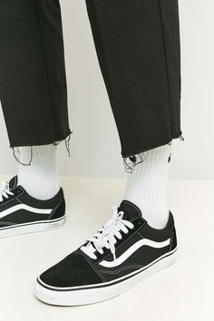 Shore Leave by Urban Outfitters Rory Black Skate Raw Cut Trousers
