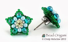 Bead Origami: Wild Forget-Me-Nots Set