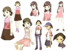 Nanako Dojima Concepts from Shin Megami Tensei: Persona 4 ★ || CHARACTER DESIGN REFERENCES™ (https://www.facebook.com/CharacterDesignReferences & https://www.pinterest.com/characterdesigh) • Love Character Design? Join the #CDChallenge (link→ https://www.facebook.com/groups/CharacterDesignChallenge) Share your unique vision of a theme, promote your art in a community of over 50.000 artists! || ★