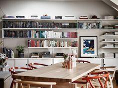 Skandynawskie wnętrza - mieszkanie na poddaszu 2