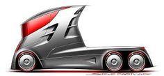 future lorry sketch - Buscar con Google