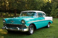 56 chevy..Re-pin Brought to you by agents at #HouseofInsurance in #EugeneOregon for #LowCostInsurance