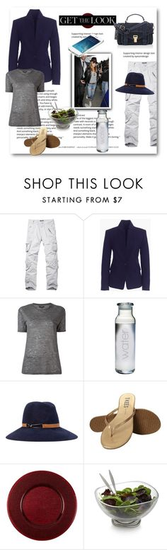 """""""Untitled #72"""" by tonituff ❤ liked on Polyvore featuring J.Crew, Isabel Marant, Current/Elliott, Eugenia Kim, Tkees, Villeroy & Boch, Nambé and Proenza Schouler"""