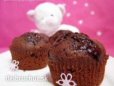 Fotorecept: Čokoládové muffiny na MDD