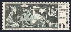 Czechoslovakia 1408,MNH.Michel 1637. Guernica by Pablo Picasso,1966.  Hootsuite http://australia-au.info/rl/st/-w/?query=371621871711