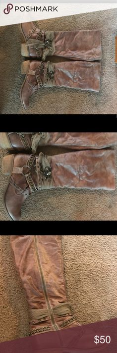 Not rated boots. Super cute. Excellent condition. Worn twice. Just cleaning out!!! Shoes Heeled Boots