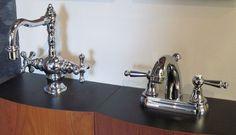 Bathroom and kitchen faucet displays Showroom, Faucet, Sink, Display, Bathroom, Kitchen, Home Decor, Sink Tops, Floor Space