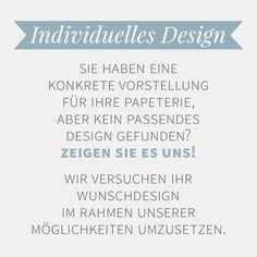 Bei uns erhalten Sie individuelle Hochzeitspapeterie ganz nach Ihren Vorstellungen. Fragen Sie nach!  www.liebeaufpapier.de