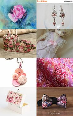 Roses by Alice on Etsy--Pinned with TreasuryPin.com