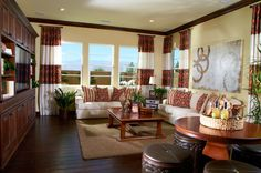 Toll Brothers - Amalfi Family Room