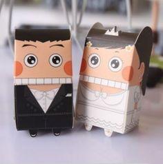 cute wedding gift box