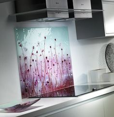 Fused Glass Portfolio | Kitchen Splashbacks | Fused Glass Art |