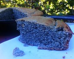 Gluten Free Blue Cornbread made with @Marci Taggart Mills gluten free, organic blue corn meal is a terrific partner for soups, stews and chili! also free from dairy/casein, soy, peanuts, tree nuts, with an egg-free option ;)