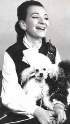 Maria Callas, Dogs, Animals, Animales, Animaux, Pet Dogs, Doggies, Animal, Animais