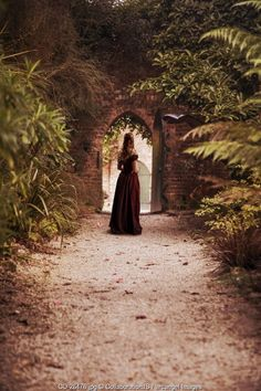 She knew if she stepped through the gate, her life would never be the same.