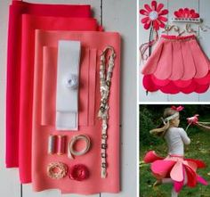 flower pixie halloween costume - kit