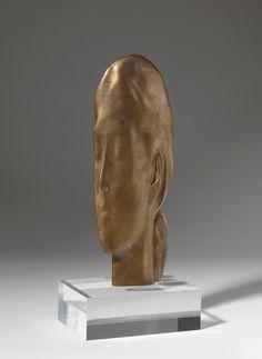 "JAUME PLENSA. ""Somni"" Escultura de bronce. 2013. Serie de 11 ejemplares + P/A. 28x11x2cm"