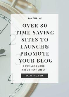 Starengu's Over 80 Time Saving Sites and Tools
