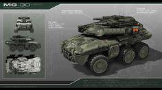 Risultati immagini per futuristic APC drawing Army Vehicles, Armored Vehicles, Cuadros Star Wars, Science Fiction, Sci Fi Ships, Futuristic Cars, Starcraft, Modern Warfare, War Machine