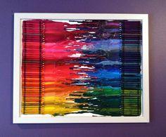 Another crayon art idea