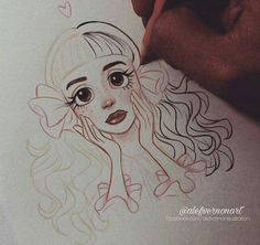Online shopping for Pastel Drawings from a great selection at Collectibles & Fine Art Store. Cute Drawings, Drawing Sketches, Desenhos Tim Burton, Melanie Martinez Drawings, Crybaby Melanie Martinez, Art Sketchbook, Oeuvre D'art, Manga Art, Cute Art