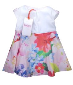 2a760288a0da Ted Baker Baby Girls Dress Party Floral Designer 3-6 Months Ted Baker Baby