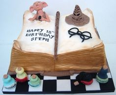 Harry Potter 18th birthday cake By MelysCakeDesign on CakeCentral.com