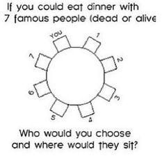 1. Hunter Hayes 2. Matt Utterback 3. Steve Sinatra 4. Devin Malone 5. Carrie Underwood 6. Luke Bryan 7. Sam Ellis :)