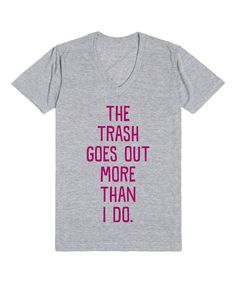 Look what I found on #zulily! Heather Gray 'More Than I Do' V-Neck Tee by Skreened #zulilyfinds