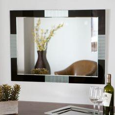 Décor Wonderland Francisco Large Wall Mirror - 23.6W x 31.5H in. - SSM525
