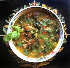 Posts about Homemade Food Porn written by Christine Elise McCarthy Spinach Soup, Sausage And Kale Soup, Vegan Mozzarella, Chicken Patties, Hot Soup, Hoisin Sauce, Christine Elise, Food Porn