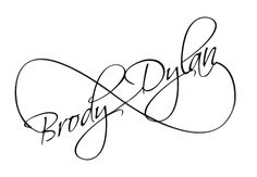 Children's Names - Infinity Tattoo -- on foot -- how crazy that the one I like actually has Dylan & well.... It's Brody on this, but Brady.  Not that ill ever get it, but I really like this