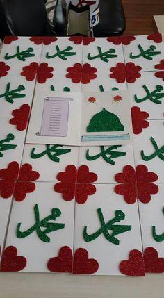 Mevlid kandili kartları Ramadan Crafts, Ramadan Decorations, Diy For Kids, Crafts For Kids, Birthday Charts, Islam For Kids, Islam Beliefs, Religion, Art N Craft