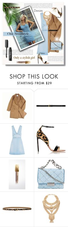 """Jean-ious Accessories!"" by bella-danielle-mia ❤ liked on Polyvore featuring ssongbyssong, Yves Saint Laurent, STELLA McCARTNEY, Francesco Russo, Burberry, B-Low the Belt, Samantha Wills, denim, YSL and StellaMcCartney"