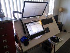 Badass animation desk.