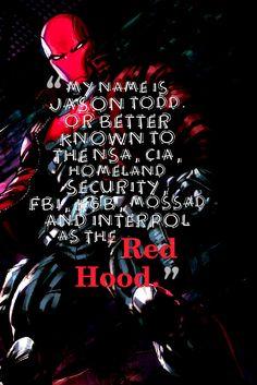 I'm Red Hood