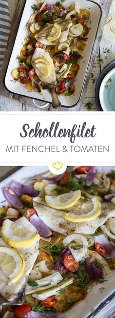 Scholle aus dem Ofen mit Fenchel und Tomaten Enjoy these top-rated grilled fish recipes outdoors this summer. Recipes include gingered honey salmon, tilapia piccata and even grilled fish tacos. Grilled Fish Tacos, Grilled Fish Recipes, Shrimp Recipes, Sauce Recipes, Oven Recipes, Whole Fish Recipes, Easy Fish Recipes, Healthy Recipes, Summer Recipes