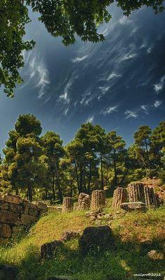 The Amphiareion of Oropos, Attica, Greece (by vasilpro)