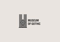 Museum of Gothic by Maxim Ali Corporate Identity Design, Brand Identity Design, Branding Design, Museum Branding, Logo Branding, Museum Identity, City Branding, Create Logo Design, Type Design