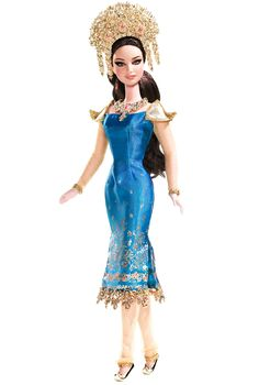 2008 Sumatra-Indonesia Barbie® | Barbie Dolls of the World Collection DOLLS OF THE WORLD