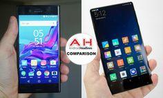 Phone Comparisons: Sony Xperia XZ vs Xiaomi Mi MIX #android #google #smartphones