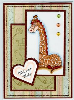 This sweet card was done by BarbieP at scs