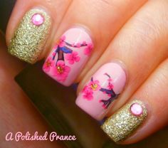 Chinese Pink Love A Peach Blossom Water Decals Nail Art [N.NAIL] http://www.kkcenterhk.com/p10356/N.NAIL-Chinese-Pink-Love-A-Peach-Blossom-Water-Decals-Nail-Art/product_info.html